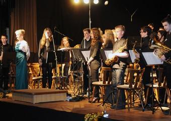 Das Schülerorchester beim Frühjahrskonzert