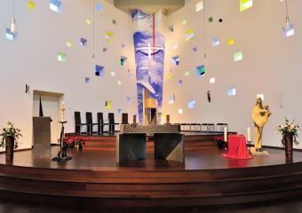 unsere Pfarrkirche Maria Königin
