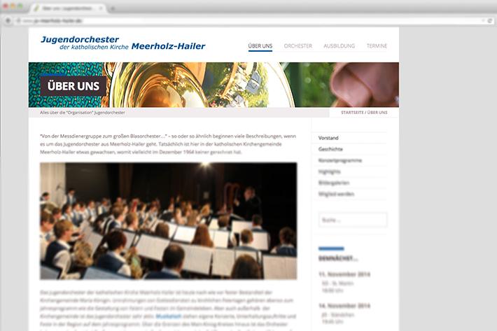 Neues Gewand für die Homepage