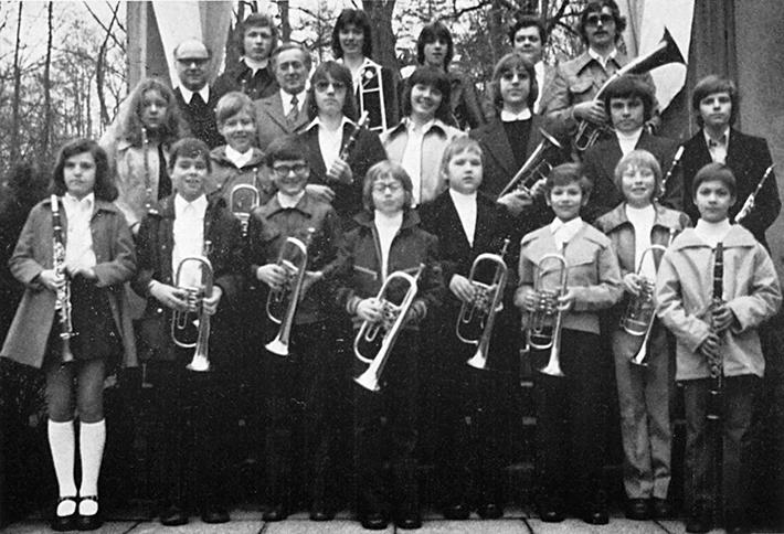 Die Jugendkapelle im Jahr 1965