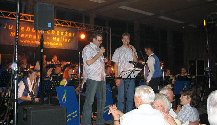 Meerholzer Kerb mit dem Trio Weismantel, Walther, Hübner