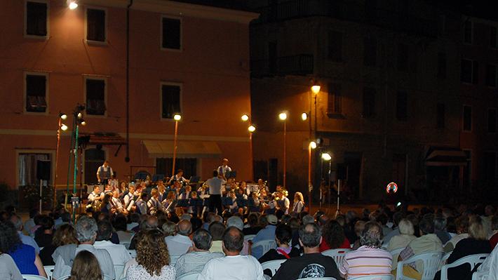 Konzert irgendwo bei Mailand