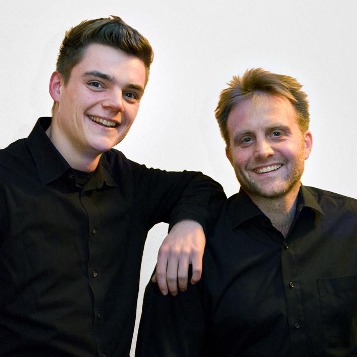 Philip Bräutigam und Jens Weismantel