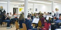 Probewochenende des Scülerorchesters