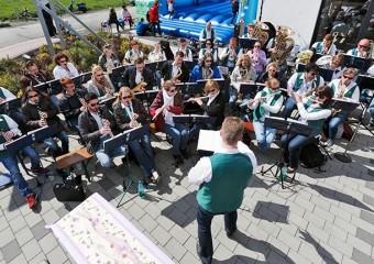 Das Stammorchester bei der Saisoneröffnung 2015
