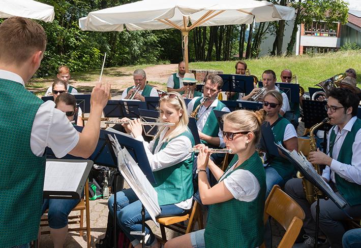 Pfarrfest 2016 mit dem Jugendorchester